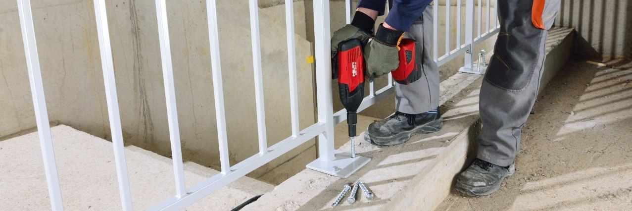 Handrails and Guardrails - Hilti India