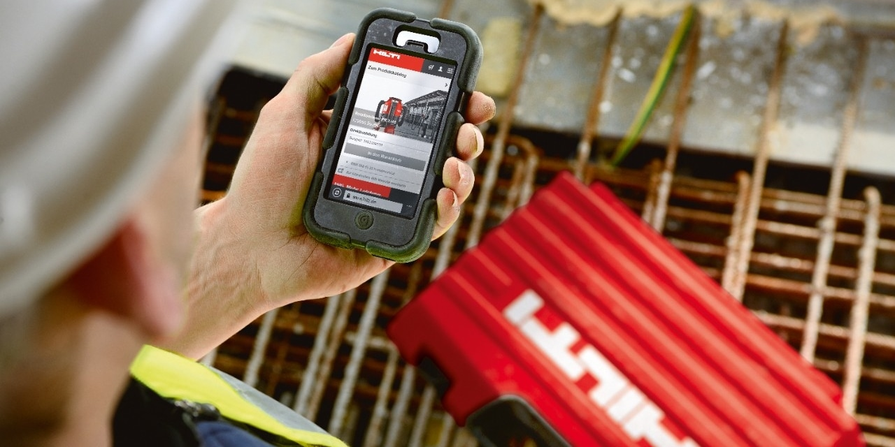 Hilti HIT Volume Calculator App