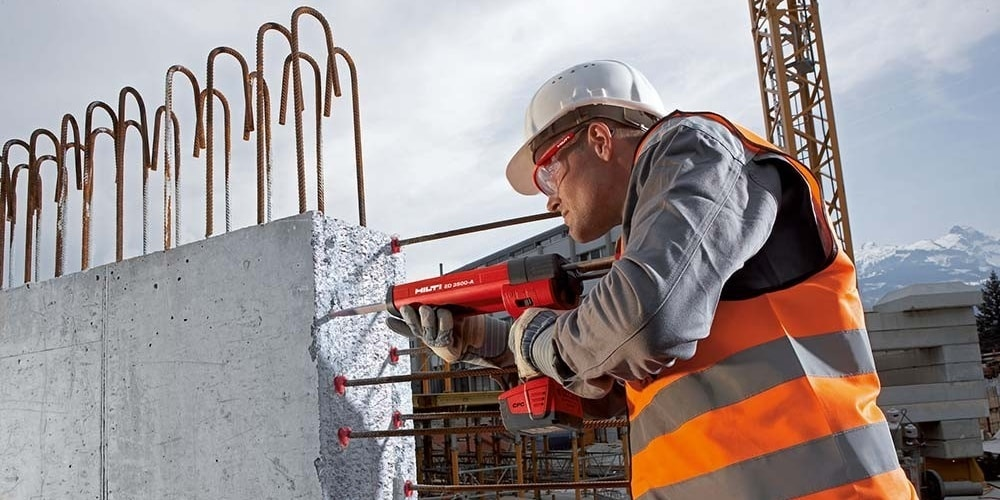 Hilti post installed rebar RE-500 and HY 200