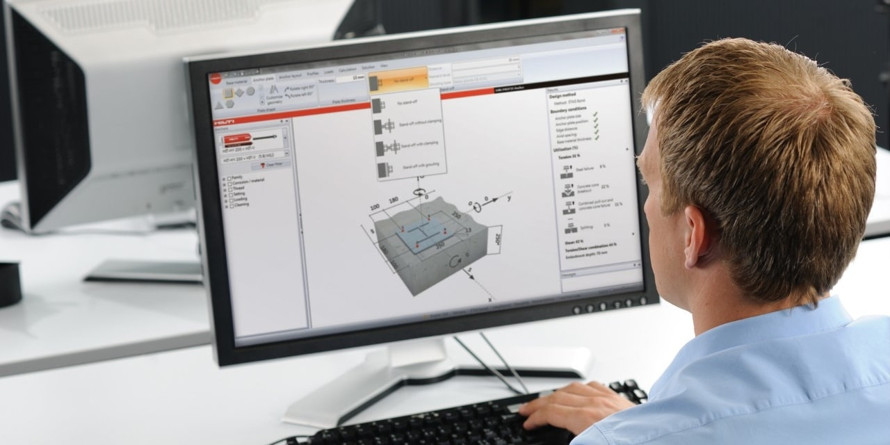 Hilti software center for rebar
