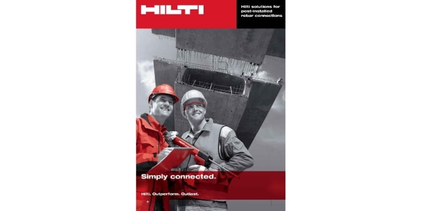 Hilti technical literature rebar