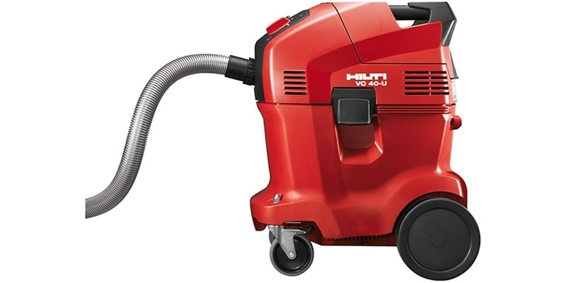 VC range of universal wet and dry vacuum cleaners as part of the Hilti SafeSet system