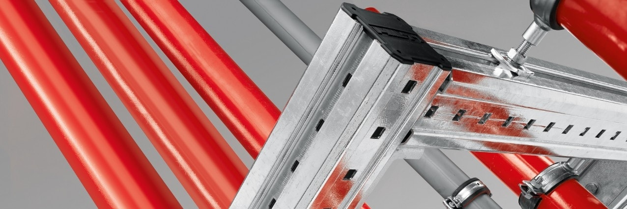 Hilti MIQ modular support system for heavy duty applications
