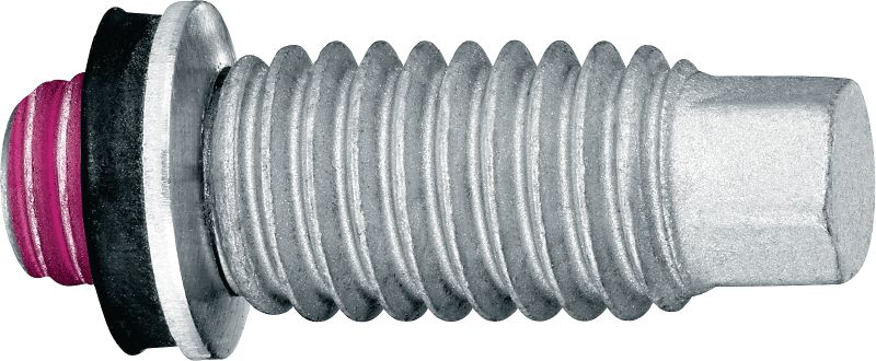 S-BT GF Threaded screw stud (carbon steel) for grating and multi-purpose fastenings on steel