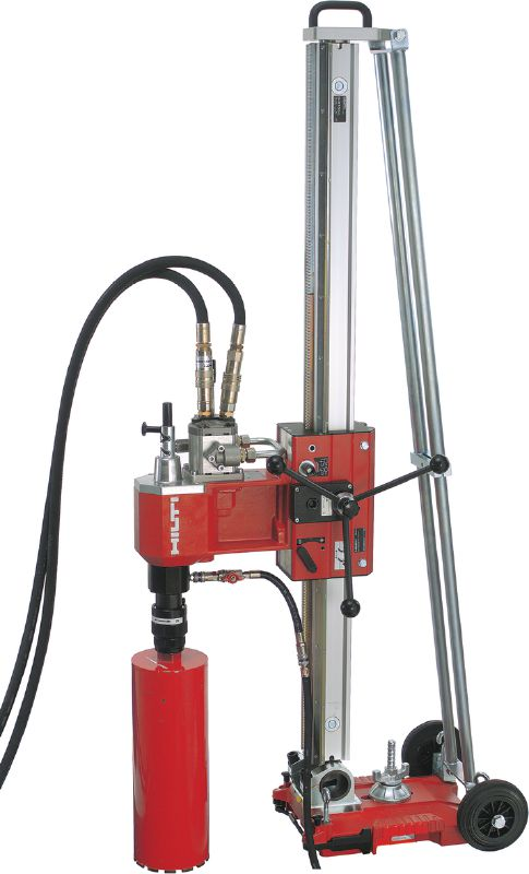 DD 750-HY Heavy-duty hydraulic diamond drilling system for rig-based coring in medium to extra-large diameters and at great depth, including underwater applications