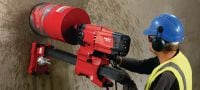 DD 200 G02 (DD-ST 200) Core drill Simple heavy-duty diamond drilling tool for coring medium and large diameters up to 500 mm Applications 1