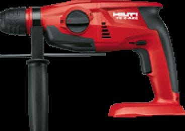 TE 2-A22 Compact, lightweight 22V cordless rotary hammer with superior handling characteristics
